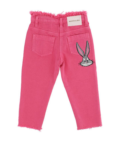 Monnalisa Jeans mit Strass - Bugs Bunny